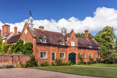 Stabiler Block, Packwood-Haus, Warwickshire, England Lizenzfreies Stockfoto
