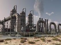 Stabilimento chimico Fotografia Stock Libera da Diritti