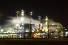 Stabilimento chimico Fotografia Stock
