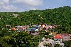 Stabilimento del cottage nelle montagne Fotografie Stock Libere da Diritti