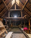 Stabilimento di Viking alla L prati aus. di Anse del ` fotografia stock