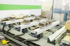 Stabilimento per la lavorazione del legno Fotografia Stock Libera da Diritti