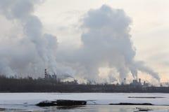 Stabilimento per la produzione di cellulosa, principe George Immagine Stock