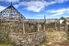 stabilimento Proto-storico in Sanfins de Ferreira Immagini Stock Libere da Diritti
