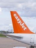 Stabilisator van een vliegtuig Stock Afbeelding