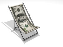 Stabilità del dollaro Fotografia Stock Libera da Diritti