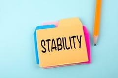 Stabilité, concept d'affaires Photo stock