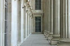 Stabilität des Gesetzes, der Ordnung und der Gerechtigkeit Stockfotografie