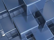 Stability. Structured set of cubes representing the concept of stability Royalty Free Stock Photo