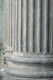 Stability and Reliability of the Legal System. The stone pillars of justice will always offer safety Royalty Free Stock Photo