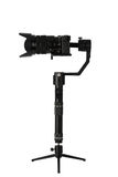Stabilization System with 3-axis gimbals & Mirrorless Camera. 3-axis gimbals Stabilization System with Mirrorless Camera. Using this equipment, a Videographer Royalty Free Stock Photos