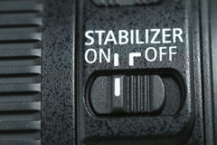 Stabilizer On ! Royalty Free Stock Image