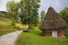 Stable. Old stable in Apuseni Mountains, Romania Royalty Free Stock Images