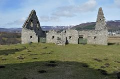 Stable block Ruthven Barracks Stock Photo