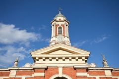 Stable Block Tower. Of Wimpole Estate near Cambridge in England Stock Image