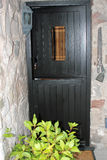 Stable door in a country home Royalty Free Stock Photo