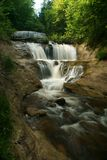 Stable Falls in pictured rocks stock photography