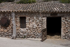 Stable in a farm - RAW format Stock Photography