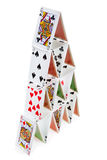 Stable house of cards Stock Photography