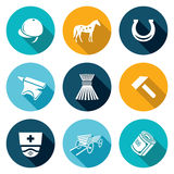 Stable Icons Set. Vector Illustration Stock Image
