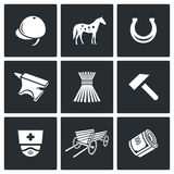 Stable icons. Vector Illustration Royalty Free Stock Photography