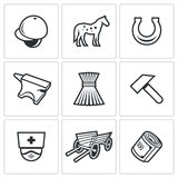 Stable icons. Vector Illustration Royalty Free Stock Images