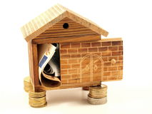 Stable Mortgage Money House Stock Photos