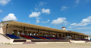 Stable in Nalchik Racecourse, Russia. Royalty Free Stock Photos