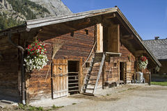 Stable in Tyrol Stock Images