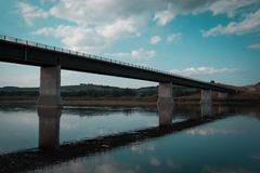 Stabled Peace Bridge royalty free stock photos
