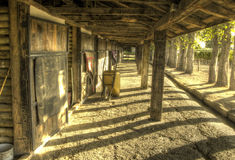Stables Royalty Free Stock Photos