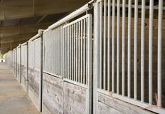 Stables Stock Photo