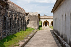 Stables at Gingee Fort. Horse stables at Gingee Fort in Tamil Nadu, India Stock Image