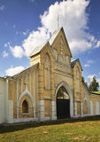 Stables. Gothic Revival Dubrovitsy. Russia Royalty Free Stock Photos
