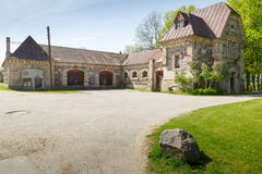Stables in Krimulda Stock Photography