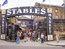 Stables Market. A famous alternative culture shops in Camden Tow Royalty Free Stock Photos