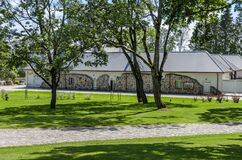 Stables Of Ilzenberg Manor House Stock Images