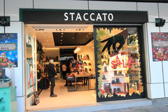 Staccato boutique en kveekoong de hong Photographie stock