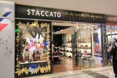 Staccato shop in hong kong Royalty Free Stock Photography