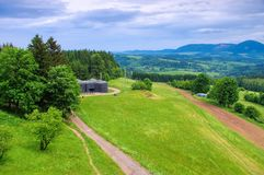 Stachelberg fortress near Zacler in Giant  Mountains Royalty Free Stock Image
