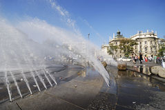 Stachus fountain Royalty Free Stock Photography