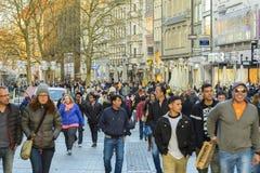 Munich city center, Bavaria, Germany Stock Photo