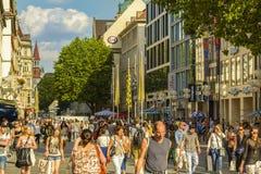 Munich city center, Bavaria, Germany Stock Photography