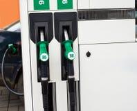 Staci benzynowa pompa Obraz Royalty Free