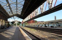 Staci kolejowej platforma Obraz Stock