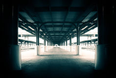 Staci Kolejowej platforma Wellington obraz stock