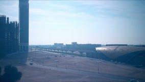 Staci metru 4k czasu upływ od Dubai miasta zbiory