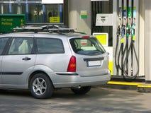 stacja benzynowa Zdjęcie Stock