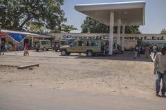 Stacja benzynowa w Tanzania Obraz Royalty Free