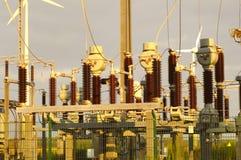 stacja energii elektrycznej Zdjęcie Stock